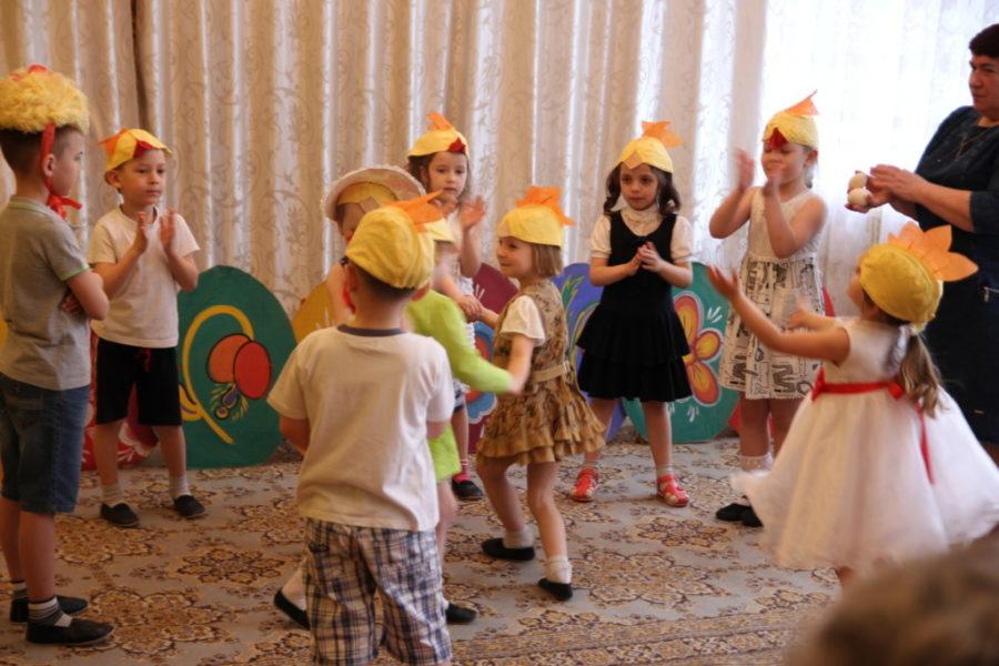 Пасха в детском саду поселка Большое Руново